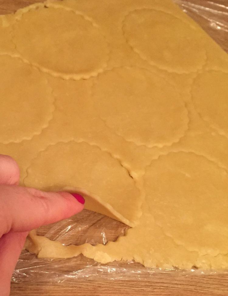 thin shortcrust pastry