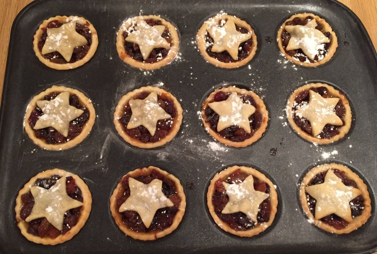 christmas home baking